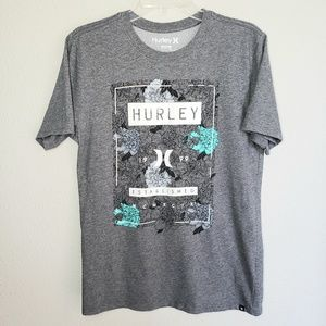 Hurley surf apparel T-shirt with nike dri-fit tech